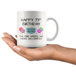 Load image into Gallery viewer, 73rd Birthday Mug 2021