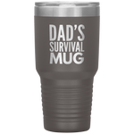Load image into Gallery viewer, Dad's Survival Mug 30 oz Tumbler