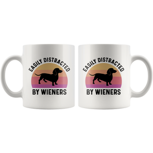 Easily Distracted By Wieners Mug