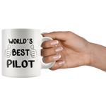 Load image into Gallery viewer, World's Best Pilot Mug