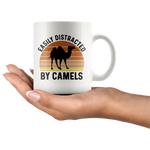 Load image into Gallery viewer, Camel Mug, Easily Distracted By Camels