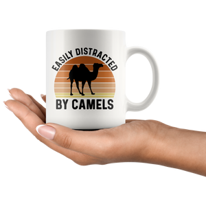 Camel Mug, Easily Distracted By Camels