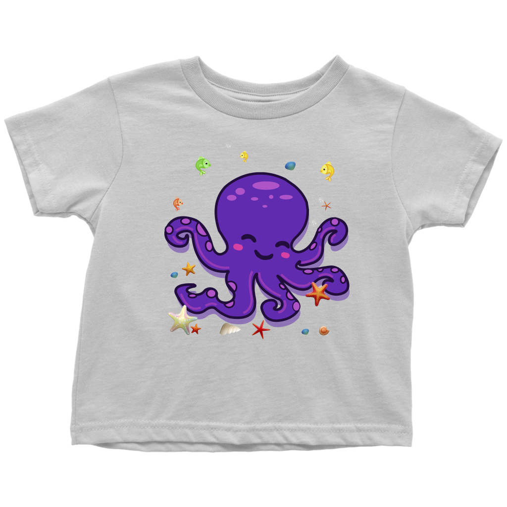 Octopus Shirt for Toddlers