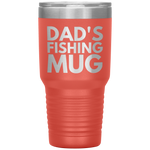 Load image into Gallery viewer, Dad's Fishing Mug, 30 oz Tumbler