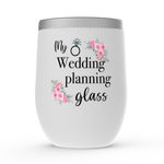 Load image into Gallery viewer, My Wedding Planning Glass Tumbler