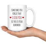 Load image into Gallery viewer, I Love You Mug