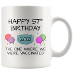 Load image into Gallery viewer, 57th Birthday Mug 2021