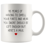 Load image into Gallery viewer, Funny 45th Anniversary Mug