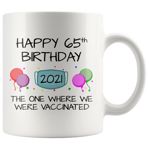 65th Birthday Mug 2021