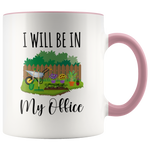 Load image into Gallery viewer, Gardening Mug, I Will Be In My Office