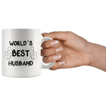 Load image into Gallery viewer, World's Best Husband Mug