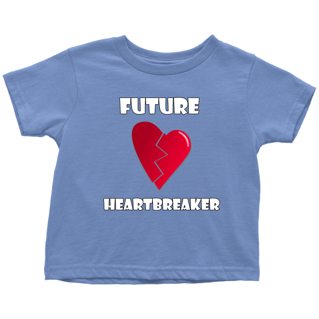 Cute Toddler Boy Shirt, Future Heartbreaker