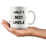 Load image into Gallery viewer, World's Best Uncle Mug