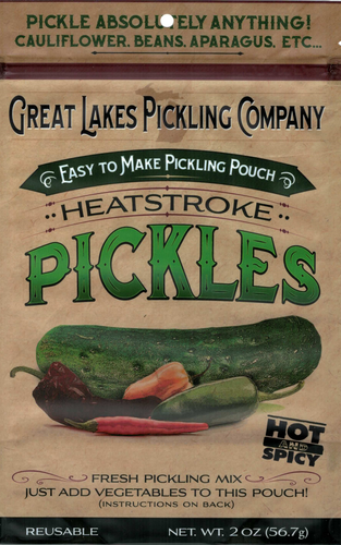 Heatstroke Easy-To-Make Pickling Pouch
