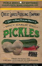 Load image into Gallery viewer, Spicy Garlic Dill Easy-To-Make Pickling Pouch