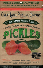 Load image into Gallery viewer, Sweet & Smoky Habanero Easy-To-Make Pickling Pouch