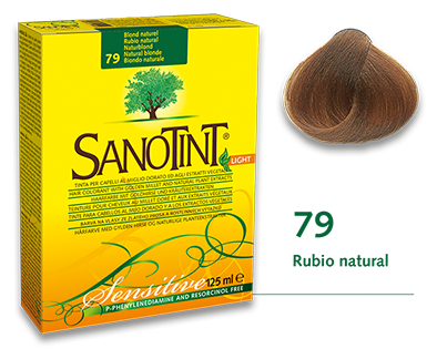 Sanotint Sensitive - 79 Rubio natural