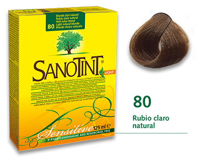 Sanotint Sensitive - 80 Rubio claro natural