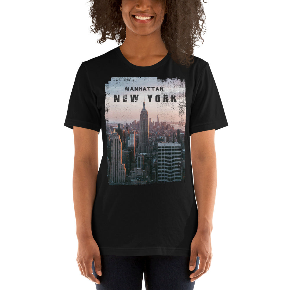 Manhattan New York Unisex T-Shirt