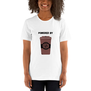 Powered By Coffee - Unisex T-Shirt