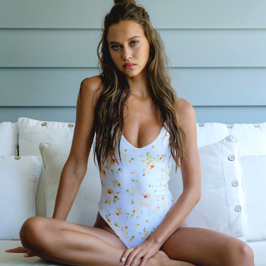 Capri One Piece / Limoncello Floral