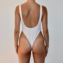 Load image into Gallery viewer, Sorrento One Piece / Ribbed White