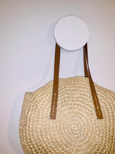 Load image into Gallery viewer, Round Woven Beach Bag