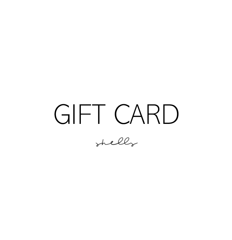 Shells the Label Gift Card