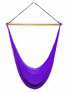 Thin Hangout Chair - Purple