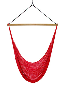 Thin Hangout Chair - Ruby Red