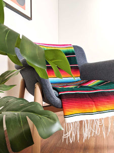 Mexican Beach Blanket - Evergreen