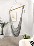 Thick Hangout Chair - Silver
