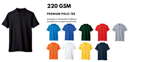 Premium regular gildan hammer tee ranging from 160gsm to 220 gsm.  Regular T-shirt are suitable for custom printing and full printing. Regular tee is also available for silkscreen, embroidery, pet printing, dtg, neck tag printing. Regular tees are suitable for most event.