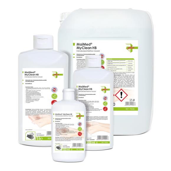 MaiMed® MyClean HB Händedesinfektion biozid (1000 ml)