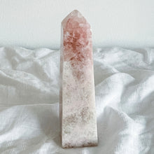 Load image into Gallery viewer, rose calcite tower 04