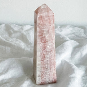 rose calcite tower 04