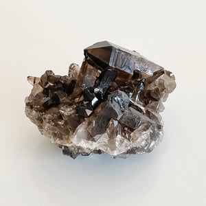 smoky quartz cluster 07