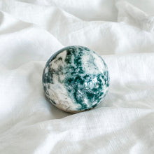 Load image into Gallery viewer, moss agate sphere 03