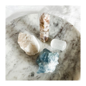 self love + strength crystal bundle