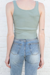 Sage Green / Cropped Fit