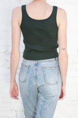 Dark Green /  Cropped Fit