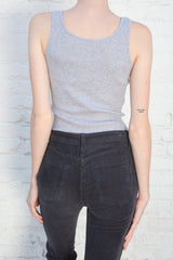 Light Heather Grey / Cropped Fit