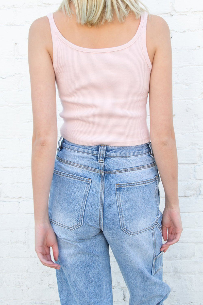 Pastel Pink / Cropped Fit