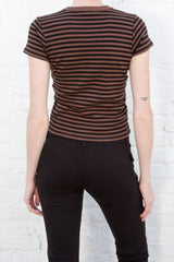 Black Brown Stripes / S