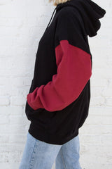Black Red / Oversized Fit