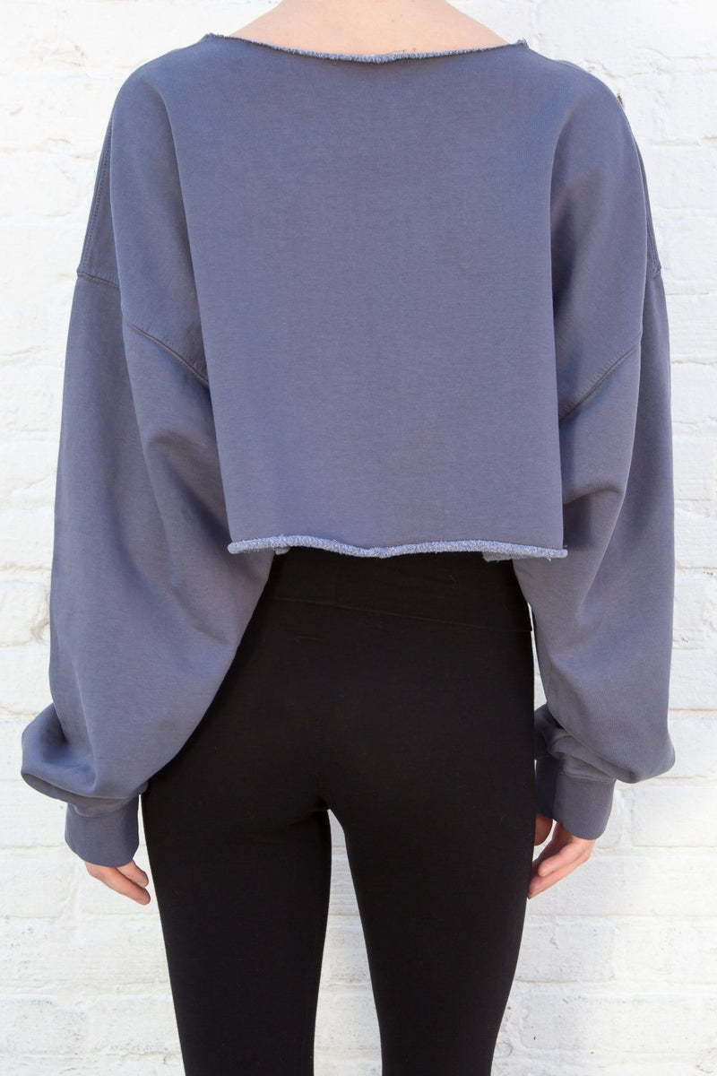 Faded Navy / Cropped Fit