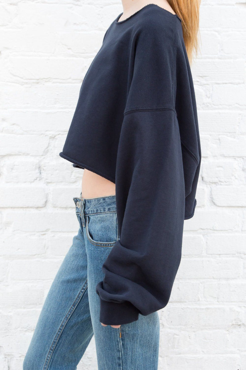 Navy Blue / Cropped Fit
