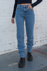 Front Photo of Carly Light Wash Jeans