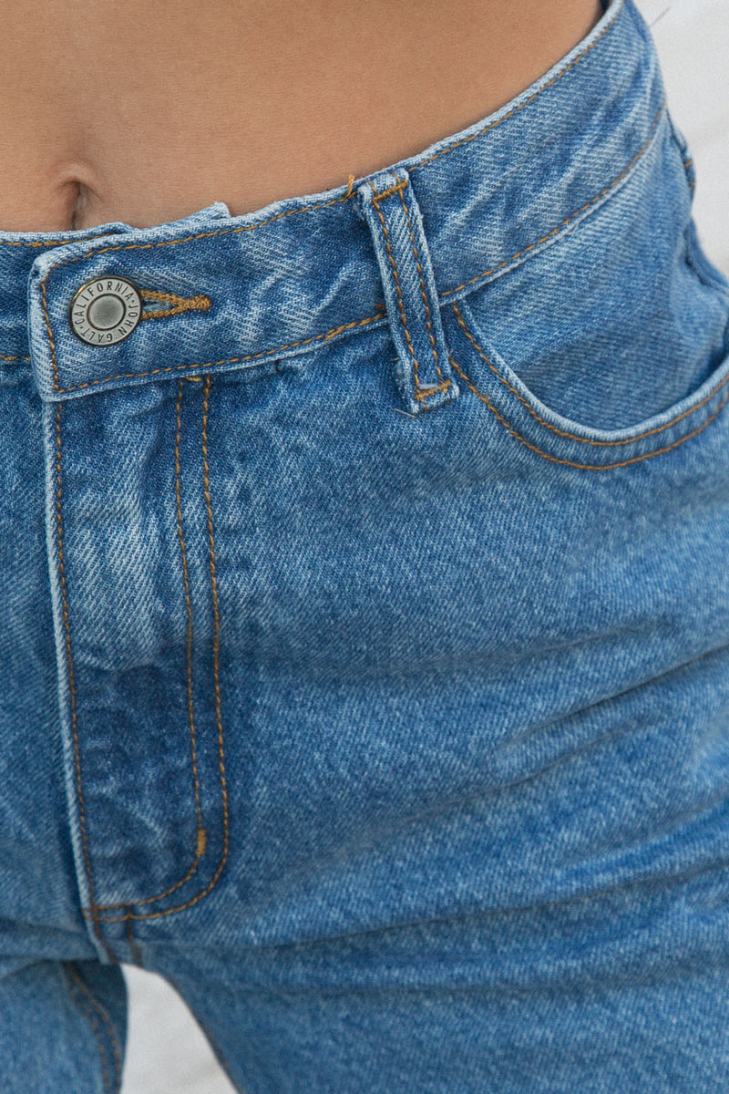 Detail Photo of Carly Light Wash Jeans