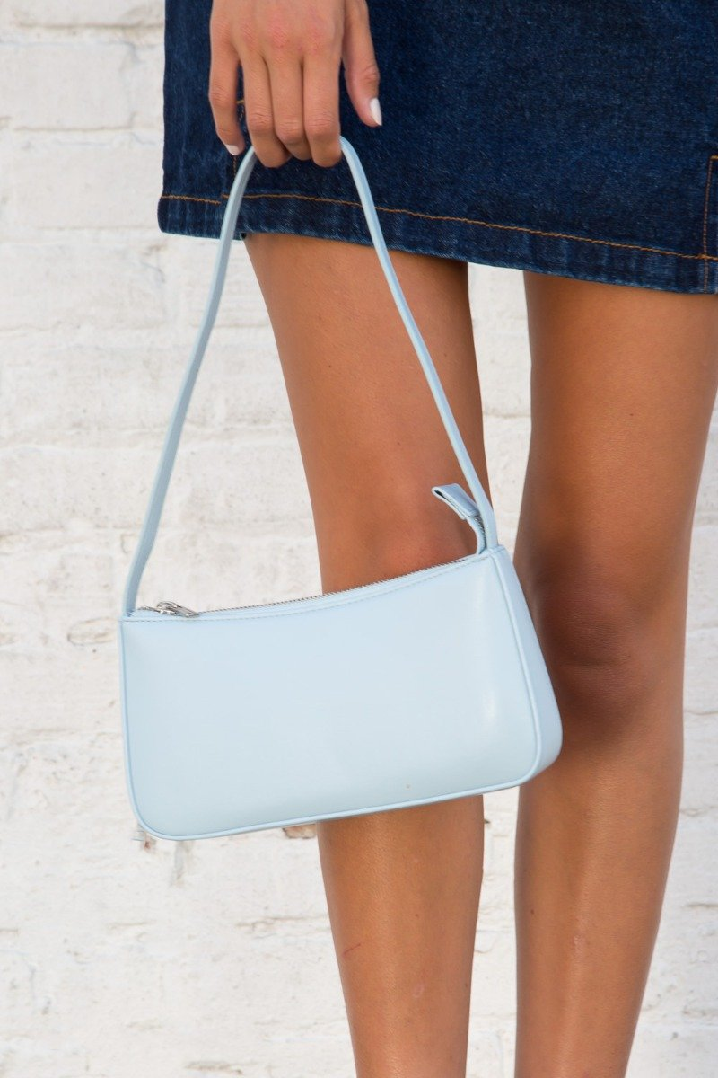 Light Blue Faux Leather